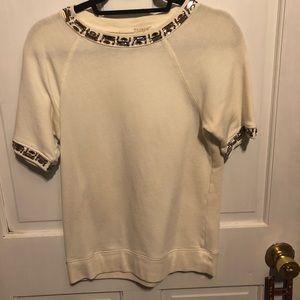 J.Crew short sleeve sweatshirt